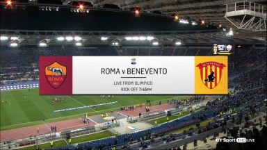 Full match: Roma vs Benevento