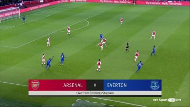 Full match: Arsenal vs Everton