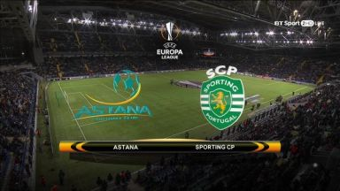 Full match: Astana vs Sporting Lisbon