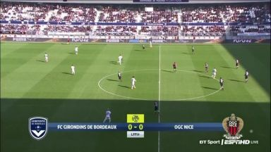 Full match: Bordeaux vs Nice