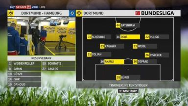 Full match: Borussia Dortmund vs Hamburger SV