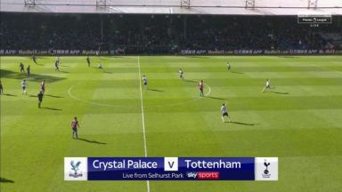 Full match: Crystal Palace vs Tottenham Hotspur