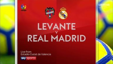 Full match: Levante vs Real Madrid
