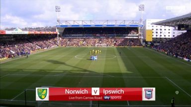 Full match: Norwich City vs Ipswich Town