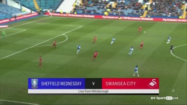 Full match: Sheffield Wednesday vs Swansea City