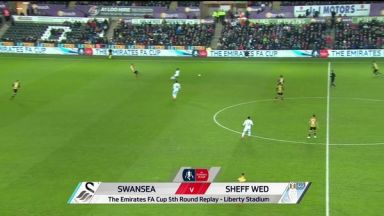 Full match: Swansea City vs Sheffield Wednesday