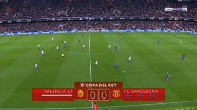 Full match: Valencia vs Barcelona
