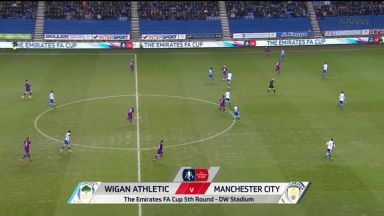 Full match: Wigan Athletic vs Manchester City