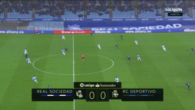 Full match: Real Sociedad vs Deportivo La Coruna