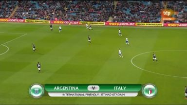 Full match: Argentina vs Italy