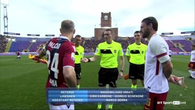 Full match: Bologna vs Roma