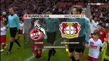 Full match: Cologne vs Bayer Leverkusen