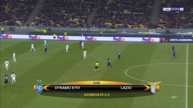 Full match: Dynamo Kyiv vs Lazio