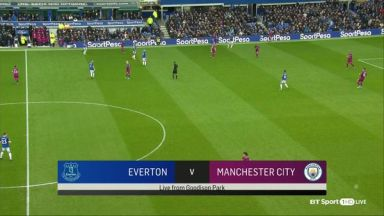 Full match: Everton vs Manchester City