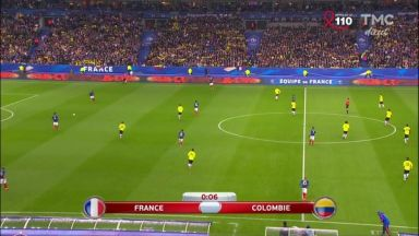 Full match: France vs Colombia