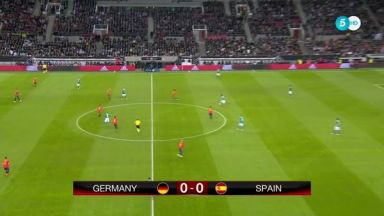 Full match: Germany vs Spain