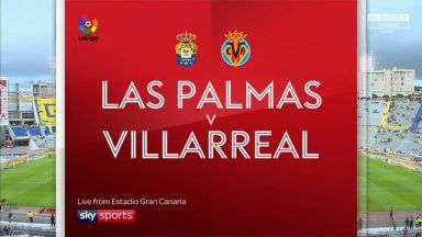 Full match: Las Palmas vs Villarreal