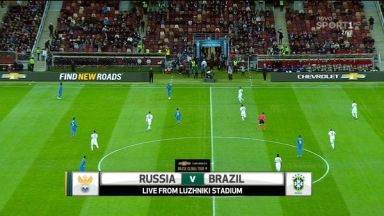 Full match: Russia vs Brazil