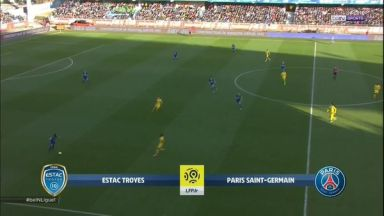 Full match: Troyes vs PSG