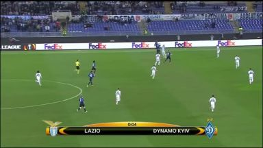 Full match: Lazio vs Dynamo Kyiv