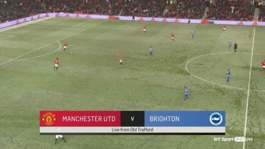 Full match: Manchester United vs Brighton & Hove Albion