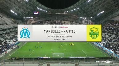 Full match: Olympique Marseille vs Nantes