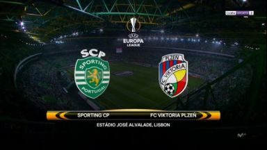 Full match: Sporting Lisbon vs Viktoria Plzen