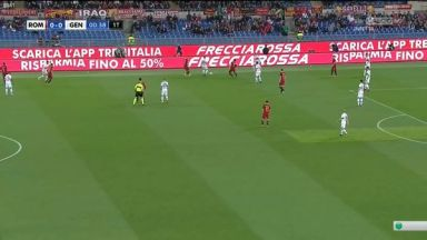 Full match: Roma vs Genoa