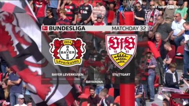 Full match: Bayer Leverkusen vs Stuttgart
