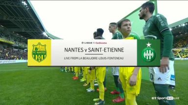 Full match: Nantes vs Saint-Etienne