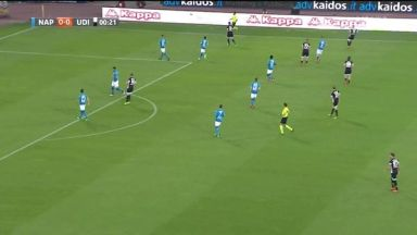 Full match: Napoli vs Udinese