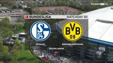 Full match: Schalke 04 vs Borussia Dortmund