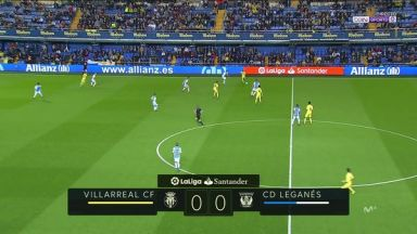 Full match: Villarreal vs Leganes