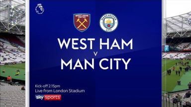 Full match: West Ham United vs Manchester City