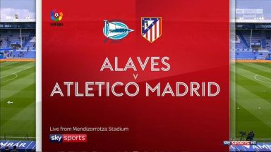 Full match: Deportivo Alaves vs Atletico Madrid