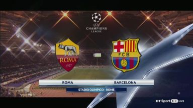 Full match: Roma vs Barcelona