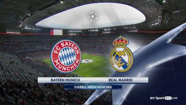Full match: Bayern Munich vs Real Madrid