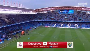 Full match: Deportivo La Coruna vs Malaga