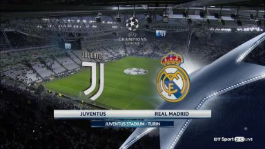 Full match: Juventus vs Real Madrid