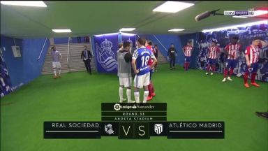 Full match: Real Sociedad vs Atletico Madrid