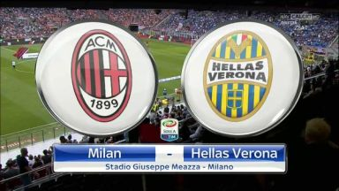 Full match: AC Milan vs Hellas Verona