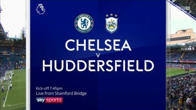 Full match: Chelsea vs Huddersfield Town