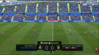 Full match: Getafe vs Atletico Madrid