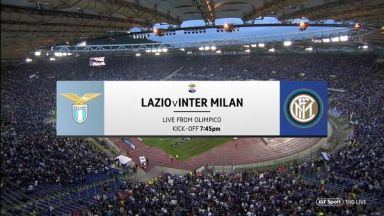 Full match: Lazio vs Inter Milan