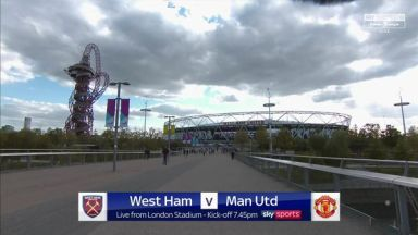 Full match: West Ham United vs Manchester United