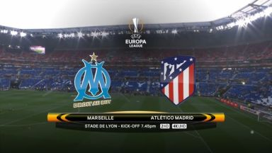 Full match: Olympique Marseille vs Atletico Madrid