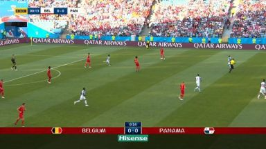 Full match: Belgium vs Panama