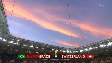 Fill match: Brazil vs Switzerland
