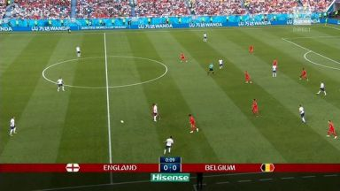 Full match: England vs Belgium