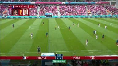 Full match: France vs Peru